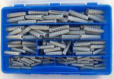 Fischer Dübel Sortiment Koffer mit 145 Teilen mit Kragen 50xSX6 45xSX8 50xSX10