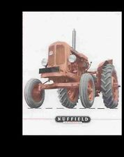 Nuffield Universal 3 & 4 Workshop Manual 190pg for Tractor Service & Repair