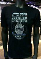 Star Wars Galaxy's Edge Opening day AP Exclusive T-Shirt L Disneyland Shirt RARE