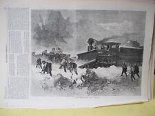 Vintage Print,SNOW DRIFT PACIFIC,Railroad,#2