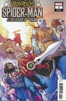 Spider-Man And The League Of Realms Comic Issue 1 Limited Variant Modern Age