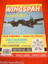 WINGSPAN # 65 - GRUMMAN TIGERCAT - MAY 1990