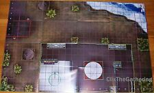 AVENGERS ISLAND/OFFICE BUILDING The Invincible Iron Man Marvel HeroClix MAP