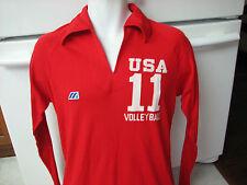 Usa Team Volleyball game jersey Mizuno retro vintage 1980s medium
