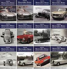 De AGOSTINI MAGAZINE-Mercedes-Benz-Official Model Collection no 61-80 - Vintage-Car