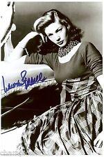 Lauren Bacall + + AUTOGRAFO + + + + Hollywood legenda + +