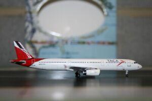 Aeroclassics 1:400 TACA Airbus A321-200 N570TA (ACN570TA) Die-Cast Model Plane