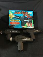 Old Vtg 1975 Remco Official Star Trek Phaser Toy Gun Guns In Original Box
