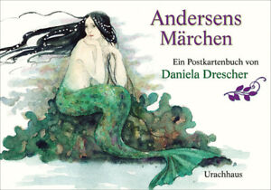 """Daniela Drescher ~ Postkartenbuch """"""""Andersens Märchen"""""""" 9783825151492"""