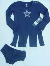 NWT Dallas Cowboys Girls Cheerleader Costume Dress Outfit Halloween 2 Pc Sz 3T