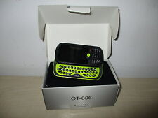 TELEFONO MOVIL VODAFONE ALCATEL OT-606 / VODAFONE ALCATEL OT-606 MOBILE PHONE