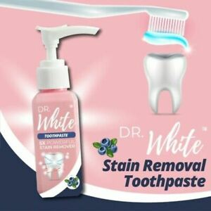 DR. WHITE STAIN REMOVAL TOOTHPASTE REDUCE TOOTH DIRT TEA SMOKE COFFEE WHITENING