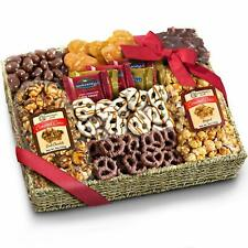 Chocolate Caramel and Crunch Grand Gift Basket for  Valentines day Snack New