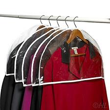 16 Shoulder Plastic Closet Garment Hanger Protector Covers Hangers Clothes .