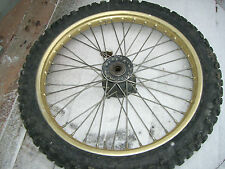 1986 1987 Honda CR125 CR250 CR500 Front Wheel and Tire