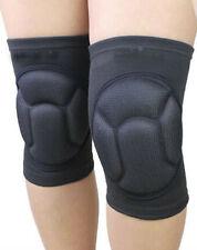 2PCS Sponge Foam Football Knee Pads Volleyball Kneecap Elastic Protector Knee