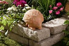 706040 Zaunhocker Igel Winnie Terrakotta 23 cm Gartenfigur Gartendeko