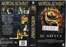 MORTAL KOMBAT - IL MITO (1998) vhs ex noleggio