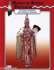 Missouri River Native American Plains Indian Buckskin Dress 6-20 Sewing Pattern