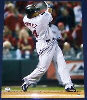 """Manny Ramirez """"24"""" Signed Autographed 16x20 Baseball Photo PSA/DNA COA"""
