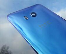 HTC U11 Rear Battery Back Door Glass Cover Housing Adhesive Original  Silver