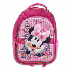 "Backpack 16"" + Lunch Bag Tote Pop Out 3D Disney Minnie Bowtique New"