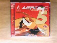 BOITIER 2 CD / THE WORLD OF AEROBIC NONSTOP MIX VOL 5 / NEUF SOUS CELLO