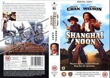 Shanghai Noon, Jackie Chan VHS Video Promo Sample Sleeve/Cover #8696