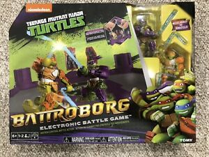 BATTROBORG TEENAGE MUTANT NINJA TURTLES ELECTONIC BATTLE GAME! BRAND NEW!! LOOK!