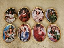 Gone With the Wind Cameo Memories - Set of 8 plates