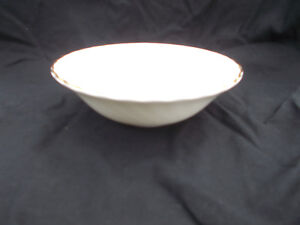 Wedgwood GOLD CHELSEA Dessert or Cereal Bowl. Diameter 6 1/8 inches.