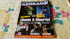 MAGAZINE KERRANG 70 - METALLICA - MACHINE HEAD - HELLOWEEN - BLACK SABBATH  RATM