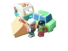 ELC Happyland Camping Toy Bundle Caravan Tent Car Figures