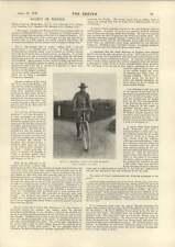 1898 el señor RL Jefferson, quien fue para montar a Khiva