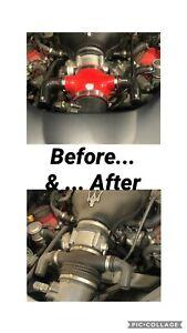 Maserati GranTurismo - QP Upgraded Air Intake + Carbon Fiber sound chamber set