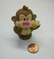 LITTLE TIKES Chunky ZOO JUNGLE CIRCUS MONKEY w/ BANANA for Little People