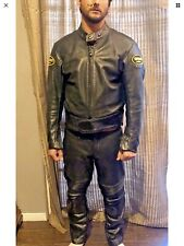 VANSON MK2 Pro Motorcycle Perforated Leather Suit Sportrider Jacket  Pants $1600