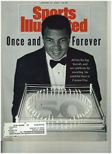 Jan 13 1992 issue of Sports Illustrated Muhammed Ali Turns 50 Cover
