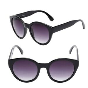 Women's Round Cat Eye Bifocal Sunglasses - 2 Pair Included with Carrying Cases