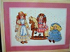Bucilla Counted Cross Stitch, Doll Collection