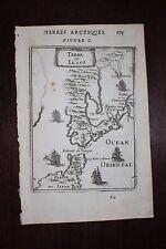 ✒ 1683 MANESSON MALLET île terre JESSO EZO île SAKHALINE nord JAPON rare