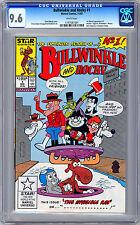 BULLWINKLE & ROCKY #1 CGC 9.6 FIRST MARVEL APP 1960'S TV ROCKY & BULLWINKLE 1987