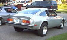1975-1980 Chevrolet Monza Center piece of 3 Piece Rear Spoiler HATCHBACK ONLY