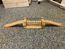Brio Wooden Train Track Rope Type Bridge and Ramps