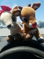 Rudolph the Red Nosed Reindeer CLARICE and RUDOLPH- BATTERIES ARE DYING