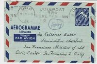 norway 1953 stamps cover ref 19405