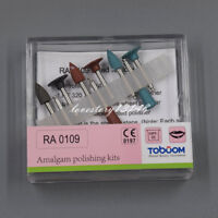 9 Pcs Dental Silicone Rubber Amalgam Polishing RA0109 For Low-speed Handpiece