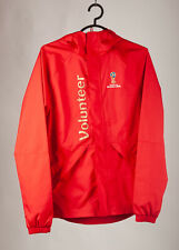 Adidas Volunteer Jacket WIndbreaker Hood Raincover FIFA 2018 World Cup Russia XS