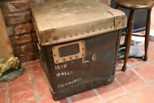 industrial vintage reclaimed storage box walls sausages very hard plastic? table