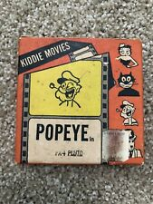 Kiddies Movies Popeye Pluto